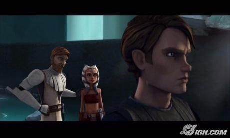 Anakin Skywalker,Ahsoka,and Obi-wan