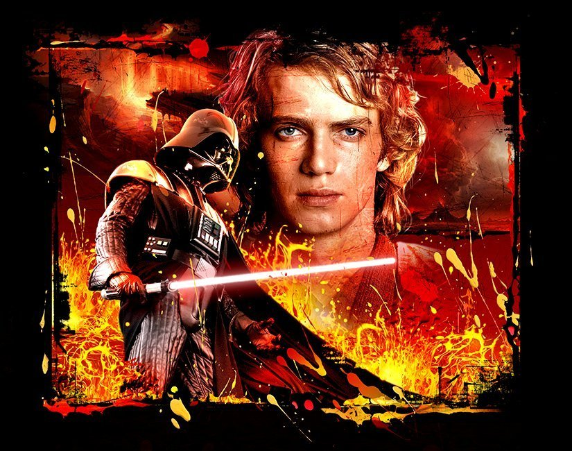 Star wars: revenge of the sith anakin/vader