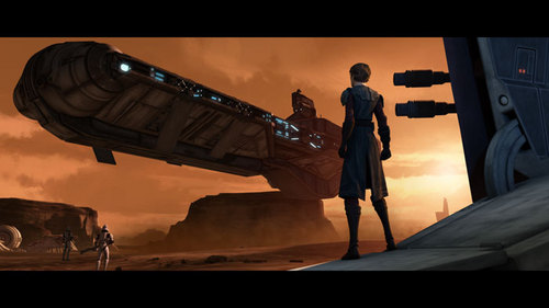 Clone wars Anakin skywalker wallpaper probably with a sunset titled Anakin