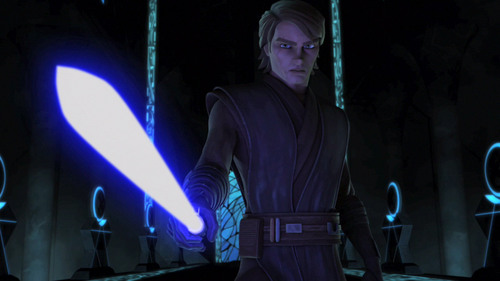 Clone wars Anakin skywalker wallpaper called Anakin on Mortis