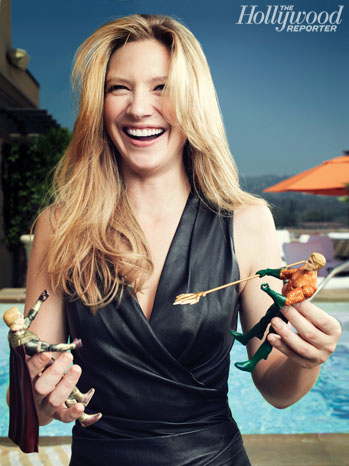 Anna Torv Photoshoot for The Hollywood Reporter's 2011 Comic Con Issue