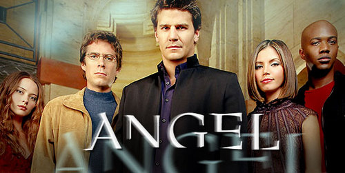 Angel wallpaper with a business suit titled Ats cast