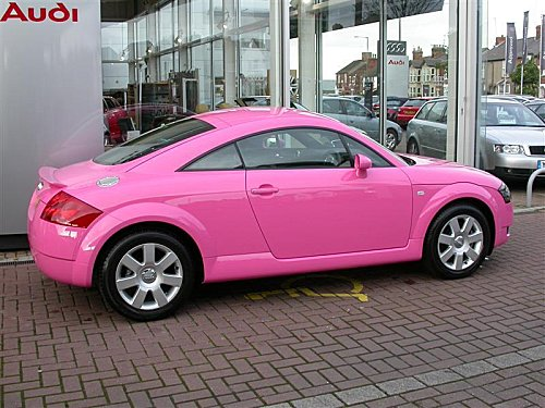Audi Images Audi Tt Pink Wallpaper And Background Photos