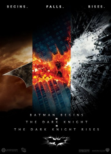 Batman Trilogy Poster - the-dark-knight-rises Fan Art