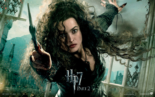 The Girls of Harry Potter wallpaper probably with a portrait called Bellatrix Lestrange : HP 7 p2 ~