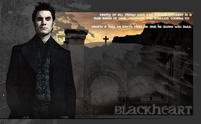 Blackheart, Devil, and demons