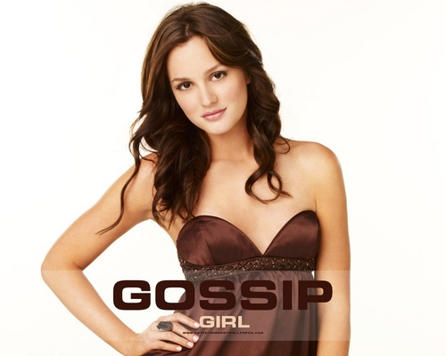 Gossip Girl fond d'écran possibly with a bustier and attractiveness entitled Blair