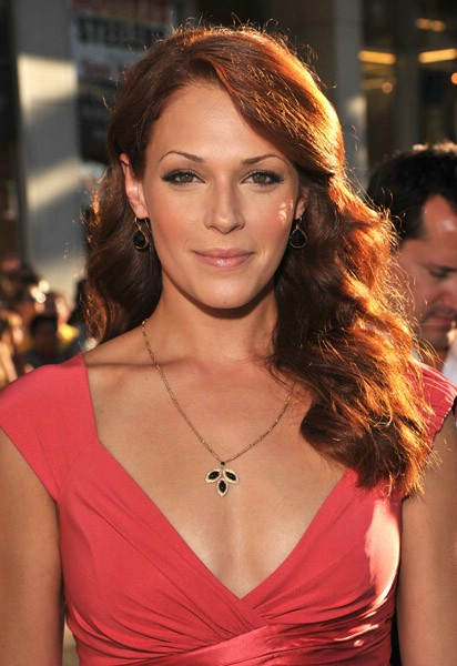 Started watching The Mentalist because of Amanda Righetti ...