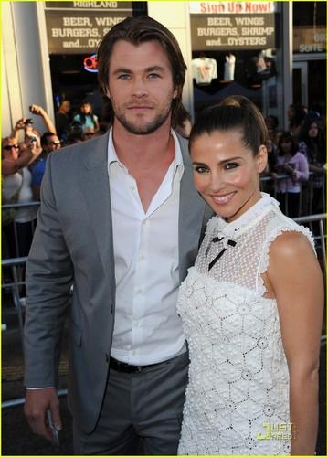 Chris Hemsworth: 'Captain America' Premiere!