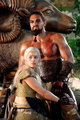 Daenerys &amp; Drogo - daenerys-targaryen photo