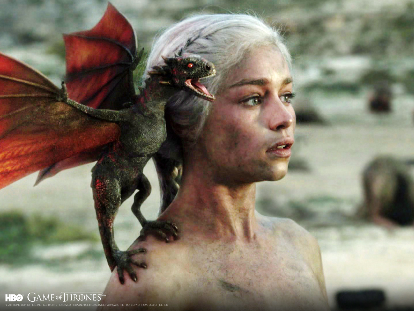 Daenerys Targaryen Wallpaper Entitled
