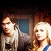 Damon & Caroline - ian-somerhalder-and-candice-accola icon
