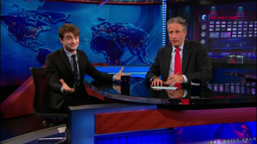 Daniel radcliffe - The Daily दिखाना with Jon Stewart (07.18.11)
