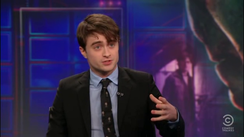 Daniel radcliffe - The Daily Показать with Jon Stewart (07.18.11)