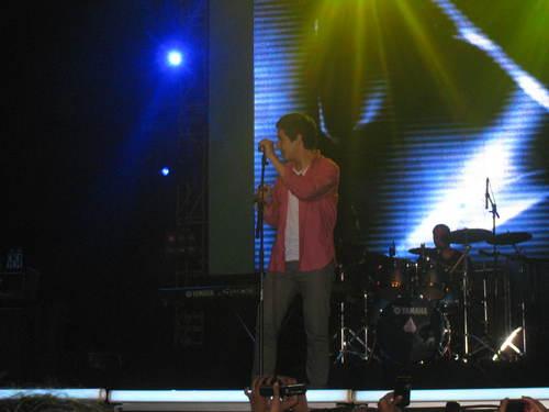 David @Pond's Teens کنسرٹ Indonesia 2011