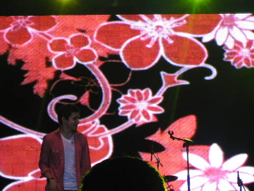 David @Pond's Teens konsiyerto Indonesia 2011