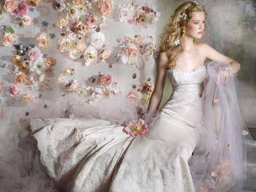 Мечты Обои probably containing a gown, a bridal gown, and a bridesmaid titled Мечты