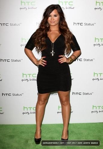 Demi - HTC Status Social Launch Event - July 19, 2011