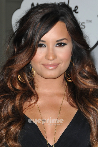 Demi Lovato: HTC Status Social Launch Event with Usher in Hollywood, July 19
