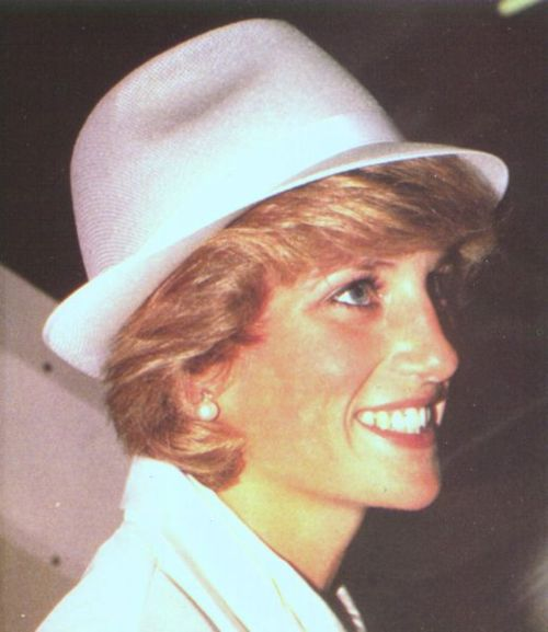 Diana: forever young and beautiful