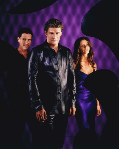 Doyle, Angel, & Cordelia