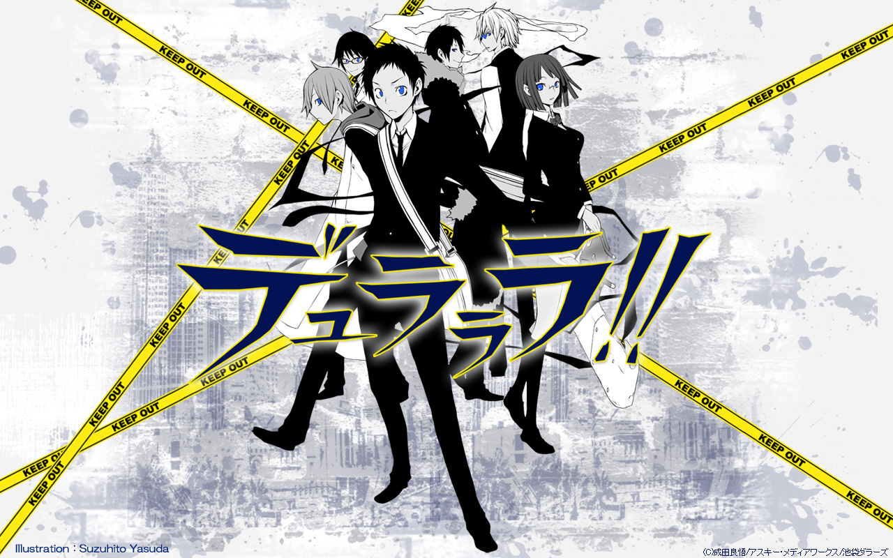 durarara durarara wallpaper 23892948 fanpop
