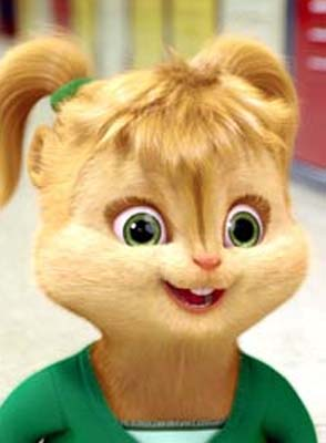 The Chipettes वॉलपेपर possibly containing a portrait called Eleanor