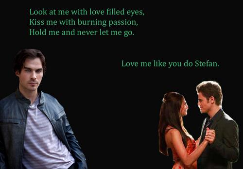 Elena, Damon and Stefan