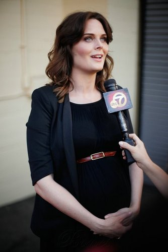 Emily Deschanel wallpaper titled Emily at the 29th Annual Gay & Lesbian Film Festival
