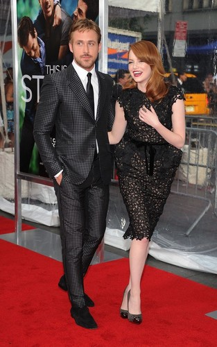 "Emma Stone at the premiere of ""Crazy, Stupid, Love"" (July 19)."