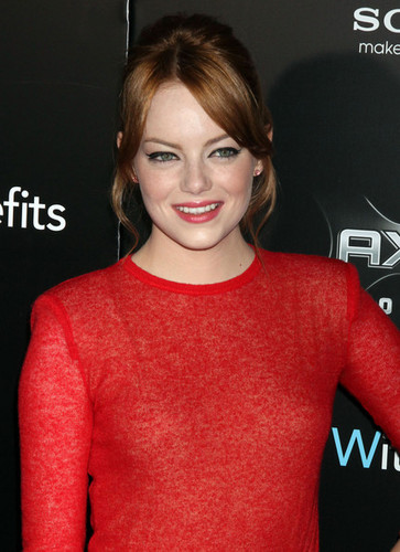 "Emma Stone attends the ""Friends with Benefits"" premiere at Ziegfeld Theater on July 18, 2011 in NY"