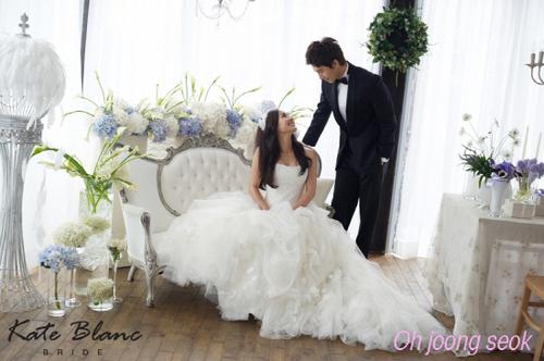 Eugene & Ki Tae Young wedding تصاویر