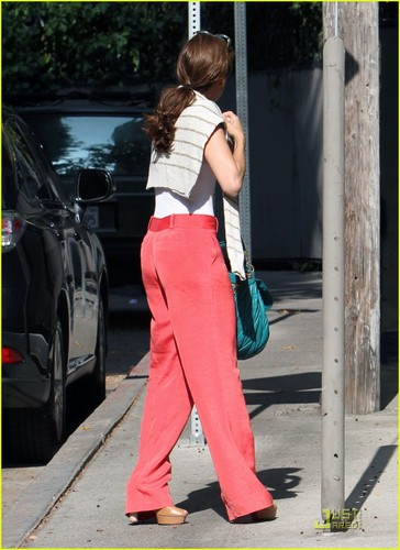 Eva Mendes: istana, chateau Marmont Meeting