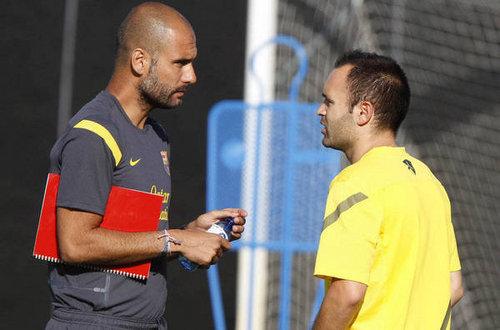 FC Barcelona Training Session (July 19, 2011)