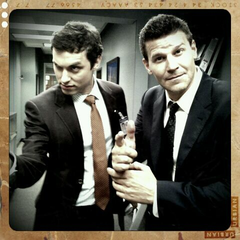 Bones wallpaper with a business suit, a suit, and a three piece suit entitled First day of shooting season 7!!!