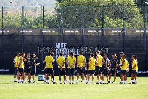 First training session