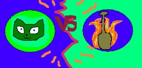 Flaming Oars VS Toxic 猫