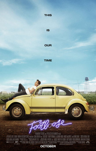Footloose (2011) wallpaper probably with a sedan, a cab, and a carreggiata, strada carraia entitled Footloose