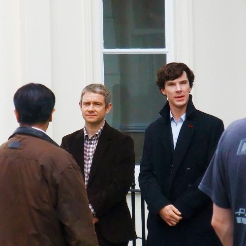 Freeman and Cumberbatch