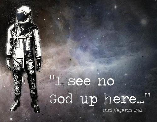 God? Where?!