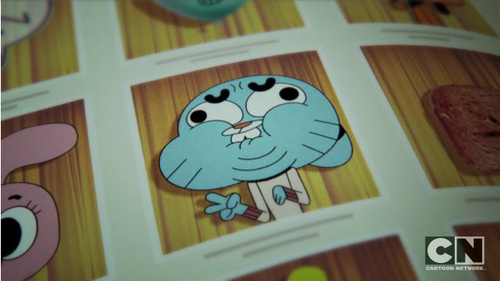 Gumballs yearbook picture - gumball-watterson Screencap