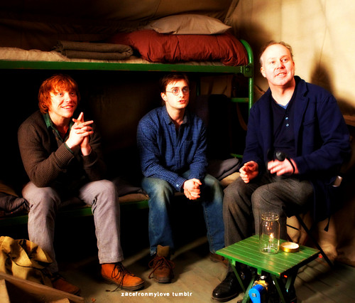 Harry Potter- Dethly Hallows Part 1- Daniel & Rupert