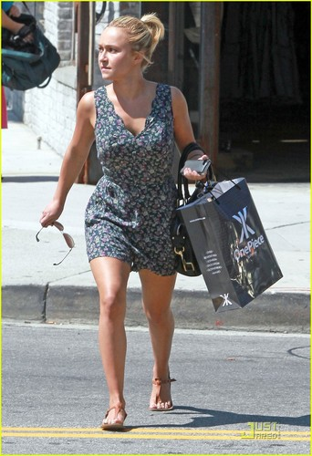 Hayden out in Beverly Hills