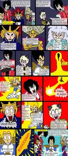Hellsing, Dragon Ball and Yu-Gi-Oh Comic