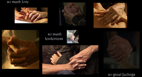 Huddy hands express so much...