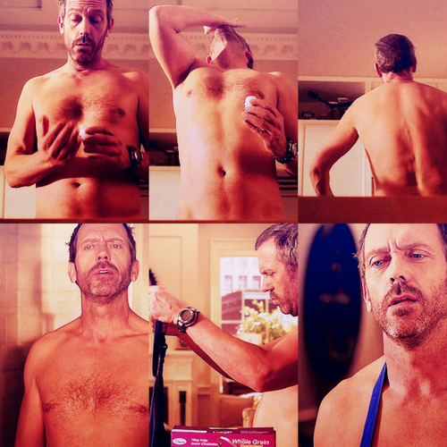 Hugh Laurie wallpaper possibly containing a hot tub, a hunk, and skin entitled Hugh Laurie