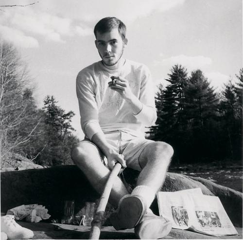 Hunter S. Thompson in 1959