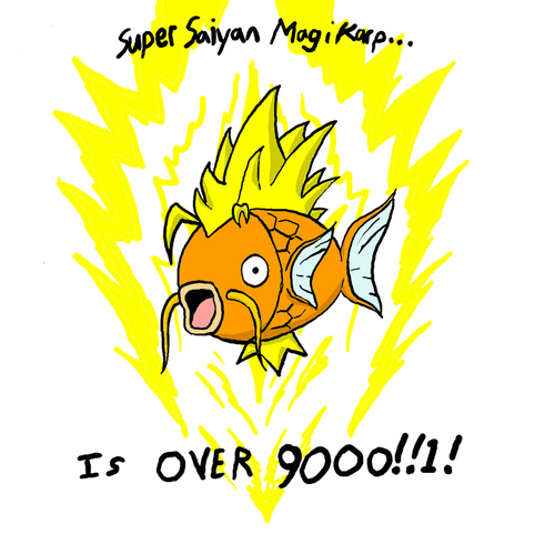 Its over 9000!!!!