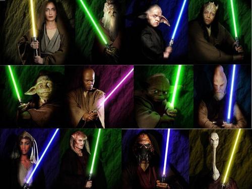 Star Wars Jedi Wallpaper Entitled JEDI