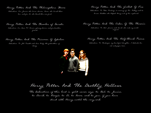 JKR Dedications wallpaper